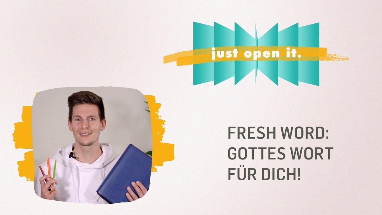 EXPERIENCE GOD SESSION - Fresh Word: Gottes Wort für dich!