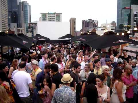 DJ HARVEY & DJ GARTH @ BAMBOO HOUSE DE FROST ROOFTOP PARTY MELBOURNE 2011