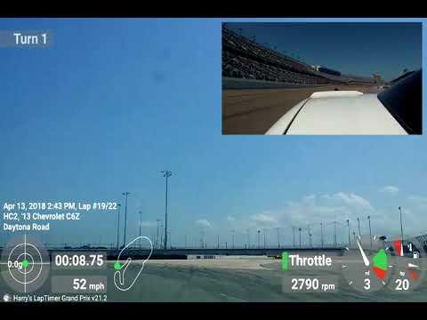 2013 C6 Z06 and 2017 C7 Z06 @Daytona International with Flat Out Motorsports