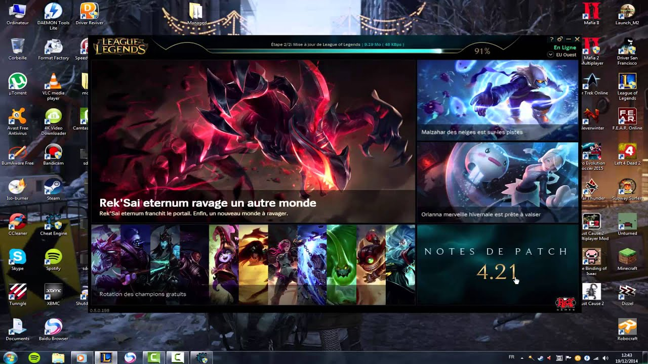 Speed up download patch League of Legends [2017] - YouTube