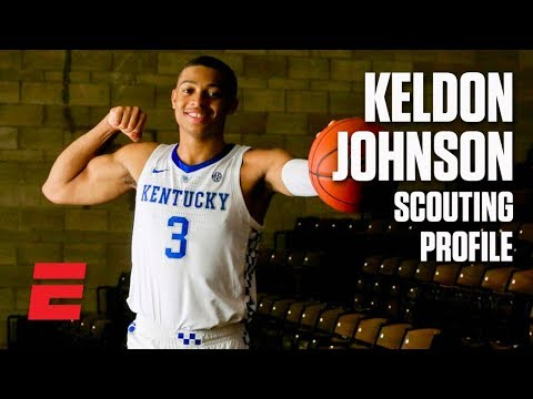Keldon Johnson preseason 2019 NBA draft scouting video | DraftExpress