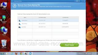 How to Recover iPhone 5S/5C/5 Contacts and Call History from iTunes backup?