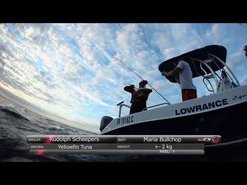 ASFN Off Shore - Power Angling for Jobfish & Tuna at Paradise Beach Mozambique