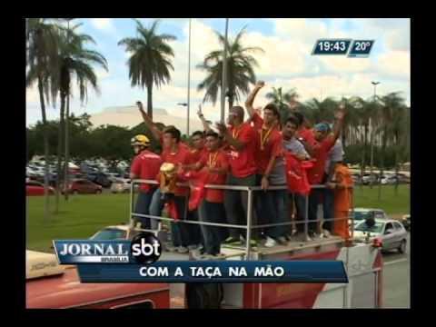 "Time de futebol ""Brasília"" conquista troféu da Copa Verde"