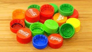 plastic bottle caps craft idea | best out of waste | plastic bottle caps reuse idea