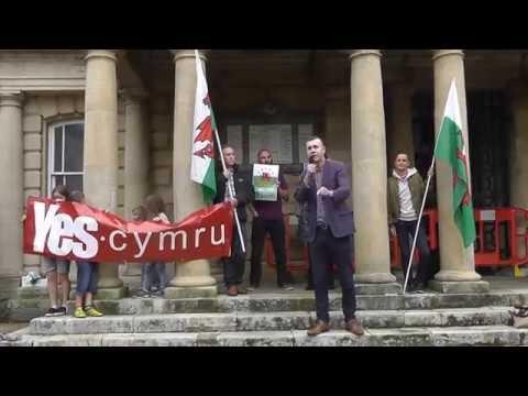 Adam Price - Rali Cymru Rydd / Welsh Independence Rally