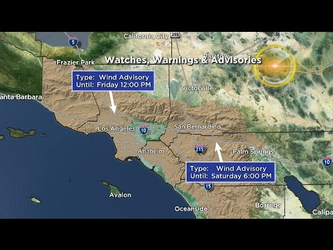 CBSLA Morning Weather Brief (January 25) – Los Angeles Alerts