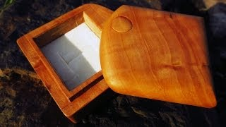 Engagement Ring Box In Apple Wood