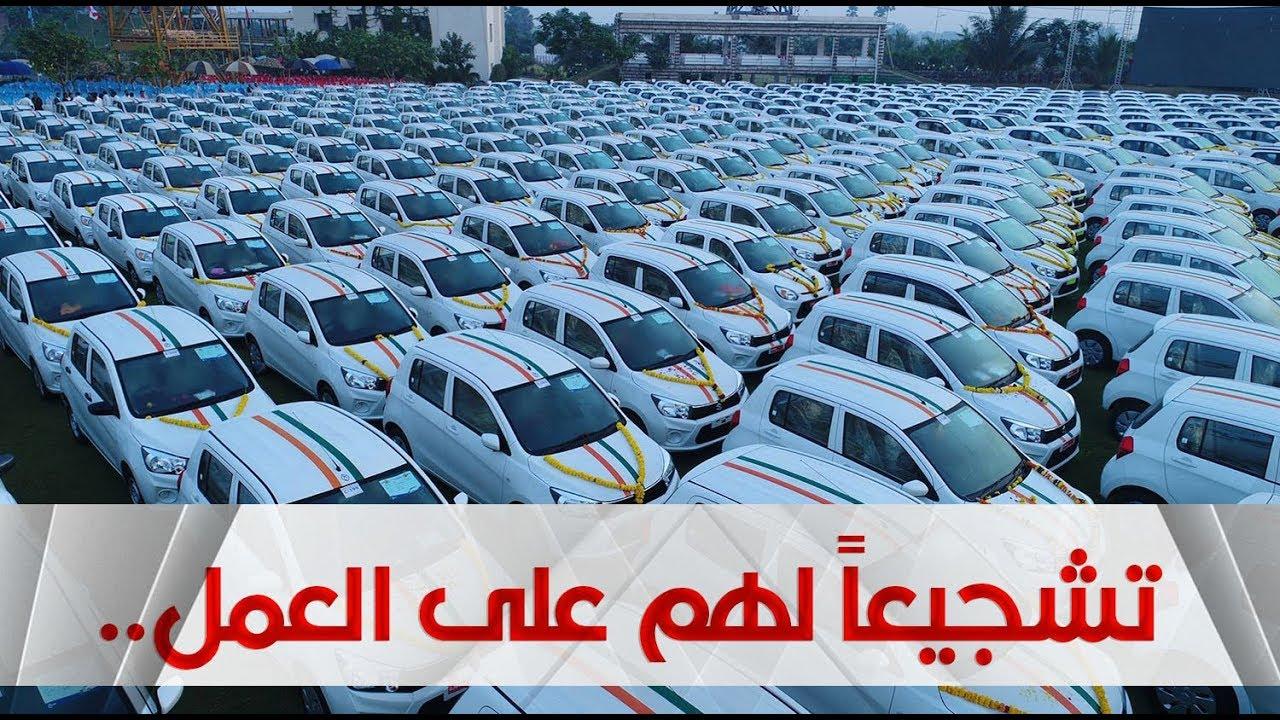 تاجر ألماس هندي يهدي موظفيه 600 سيارة ومئات الودائع النقدية والشقق  السكنية !!