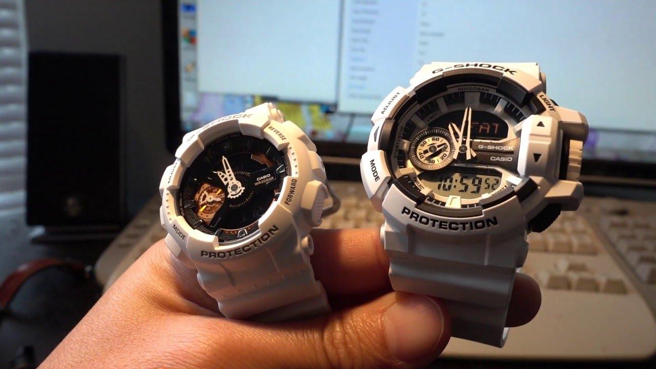 G Shock Sizing For Thin Wrist Ga 400 Vs Gmas 110cw S Series Mudman You