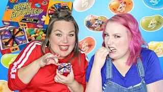 La pire dégustation pour Halloween : Bean Boozled Challenge + FAQ crunchy 😷😱     2FILLESORDINAIRES