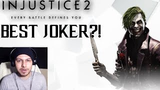 IS HE BETTER THAN SUPER?! The BEST Joker in Injustice 2!