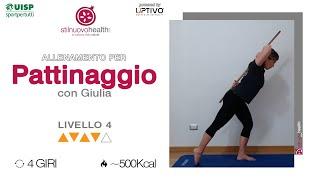 PATTINAGGIO TRAINING - Livello 4 - 1
