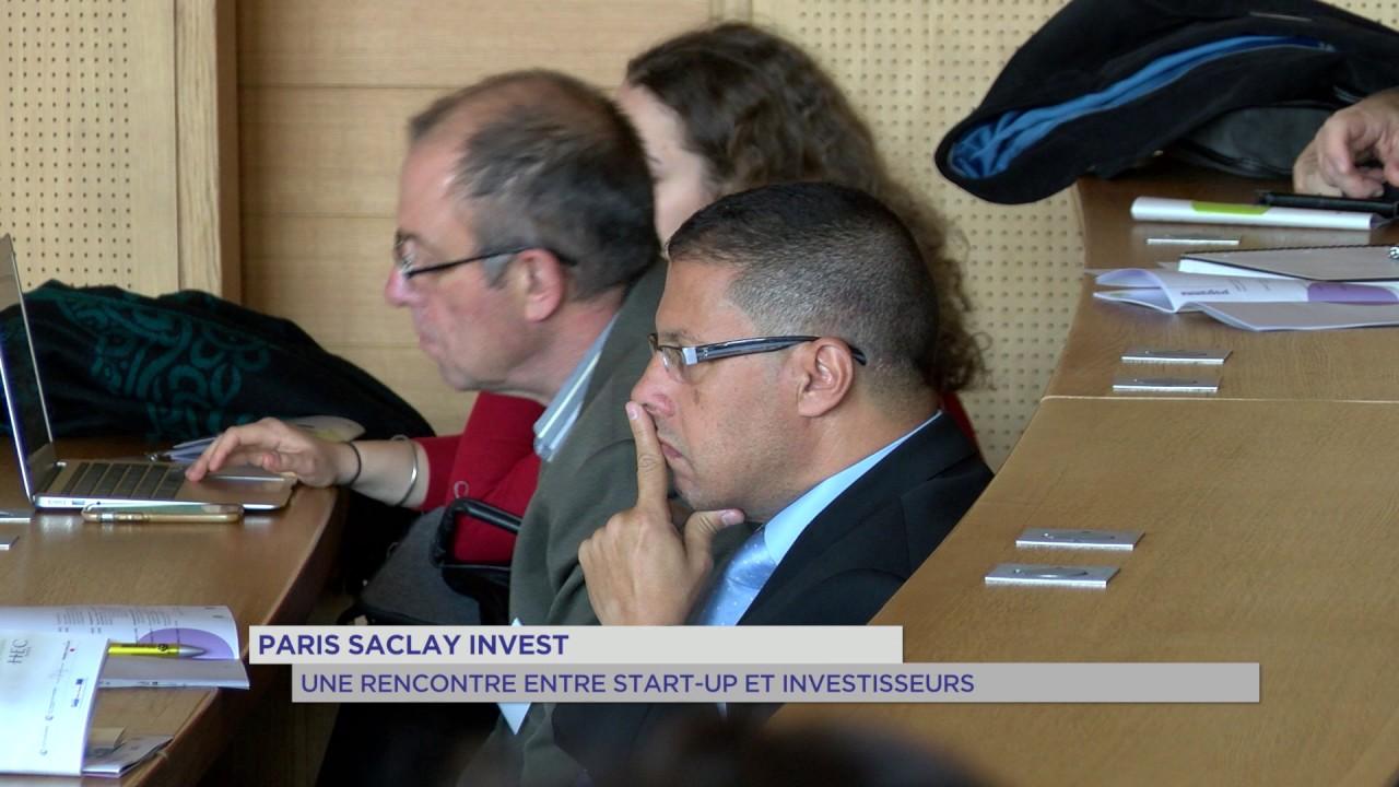 Paris-Saclay-Invest : une rencontre investisseur – start-up