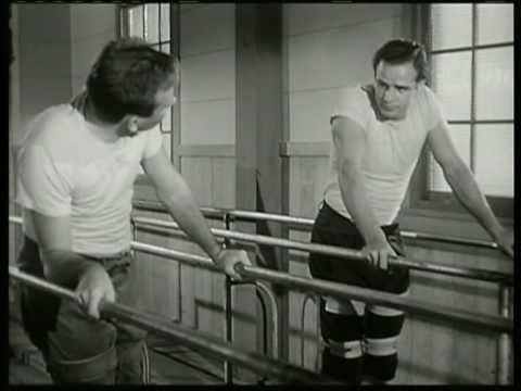 "Marlon Brando - Scene from ""The Men"""