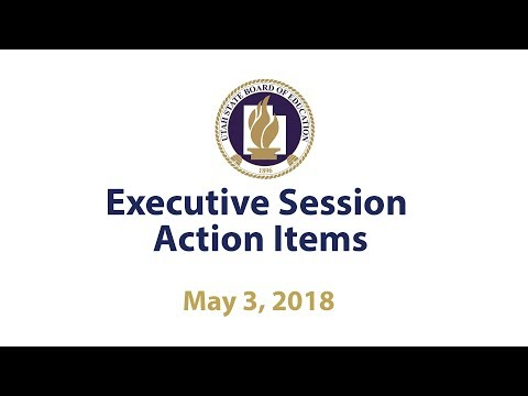 09  Executive Session Action Items