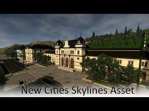 [Cities Skylines Asset] modular Altenburg station