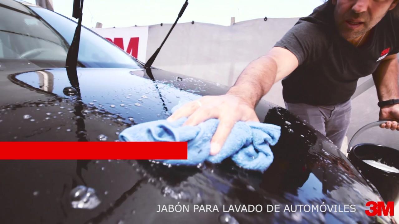 Shampoo para lavado de automóviles 3M - YouTube