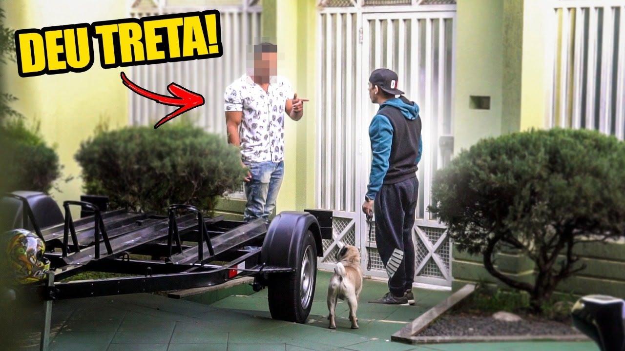 INVEJOSO DA CB1000 TENTOU INVADIR MINHA CASA POR CAUSA DA NAMORADA