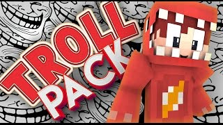 Minecraft TROLL PACK! | The Beginning! (Youtuber Modded SMP) #1