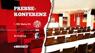Pressekonferenz nach dem Spiel gegen den SC Freiburg | #M05SCF | 1. FSV Mainz 05