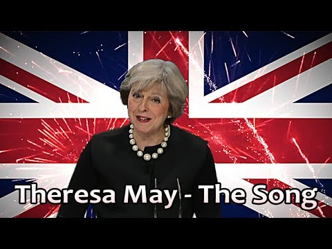 Elly Space - Theresa May: The Song // Prime Minister sings!
