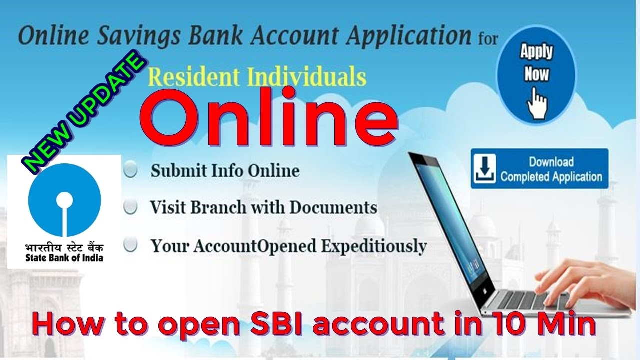 Sbi Account Opening Online Application Form 2015 Pdf