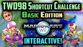Mario Kart Wii - YOU vs TWD98 Shortcut Challenge [Basic Edition]