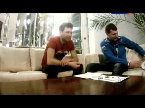 Ole Einar Bjoerndalen are trying to recognize Russian devices.wmv