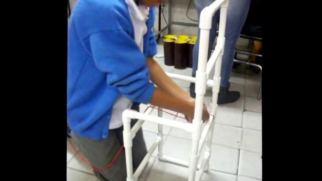 silla de tubos PVC reciclados  YouTube