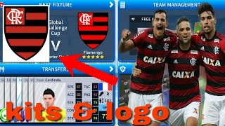 How To Create Flamengo Team Kits & Logo 2019 | Dream League Soccer 2019