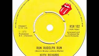 "Keith Richards – ""Run Rudolph Run"" (UK Rolling Stones) 1979"