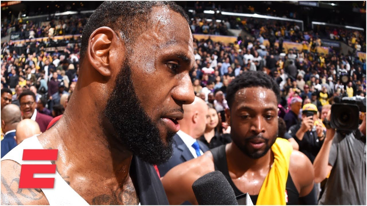 LeBron James, Dwayne Wade exchange praise after final game | NBA Sound