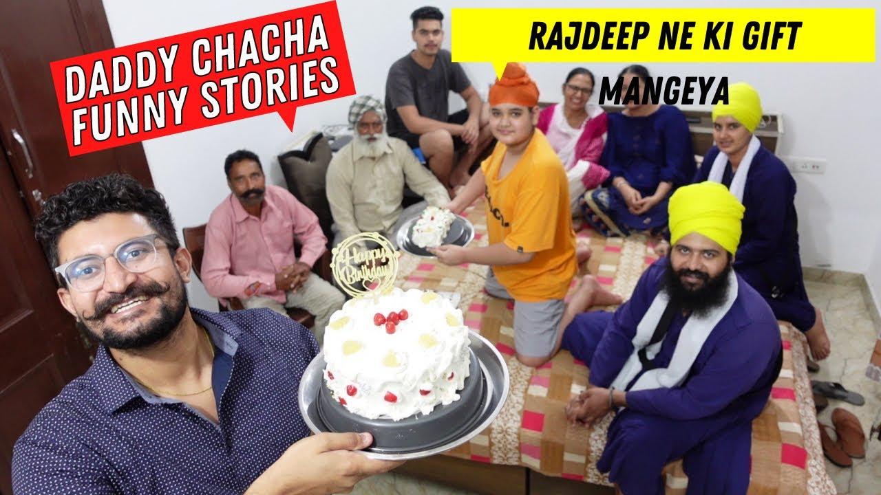 Rajdeep Da Birthday | Ghare Banaya Cake | Joint Family Birthday Celebrations | Punjabi Vlogger