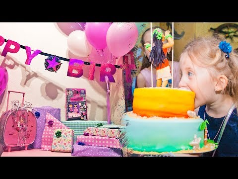 Sonjino RODJENDANSKO JUTRO! Barbie POKLONI / Gde slavimo Sonjin Rodjendan? Interaktivni park za decu