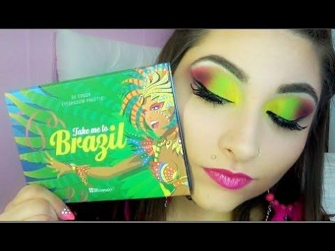Toxic Makeup Bh Cosmetics Take Me To Brazil Palette Youtube