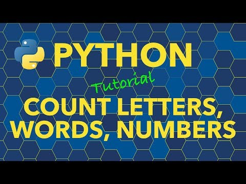 Python Count Occurrences Of Letters, Words And Numbers In Strings And Lists