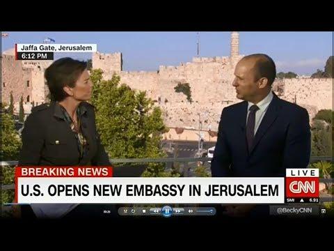 Bennett to CNN: we will never even discuss dividing Jerusalem