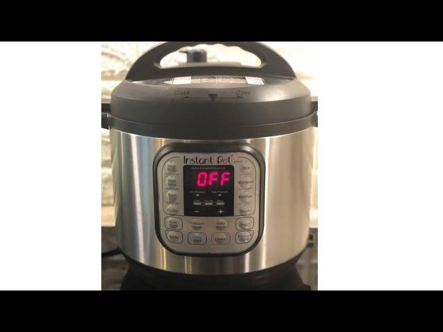 طريقه استخدام قدر الضغط الكهربائي How To Use Instant Pot Youtube