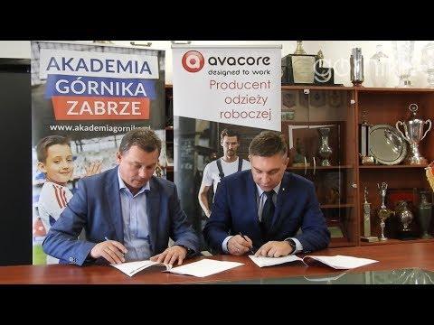 Avacore partnerem biznesowym Akademii Piłkarskiej Górnika Zabrze