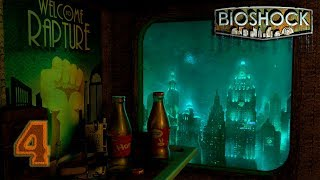 Bioshock: Remastered [4K 60FPS] прохождение на геймпаде часть 4 Битва с Большим папочкой
