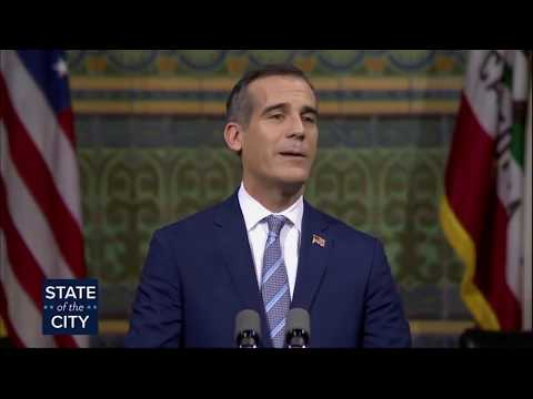 State of the City Address: New emergency shelters for LA's homeless