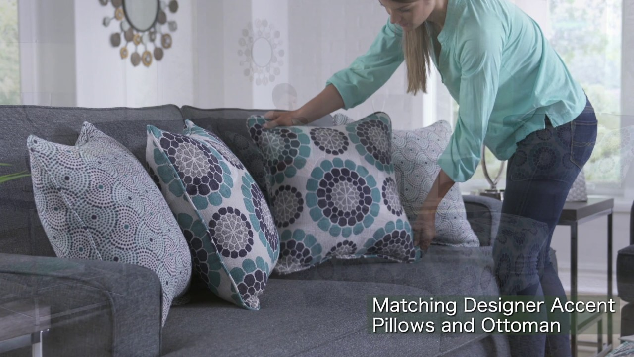 The Woodhaven Carmela Living Room Collection - YouTube