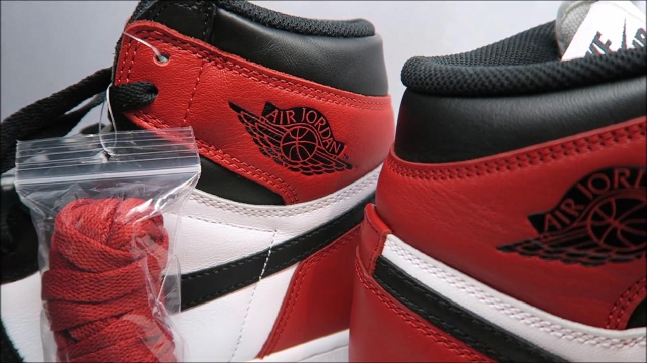 Air Jordan 1 Black Toe Retro 2016 Sneaker Review + On Foot ... c97a9a711