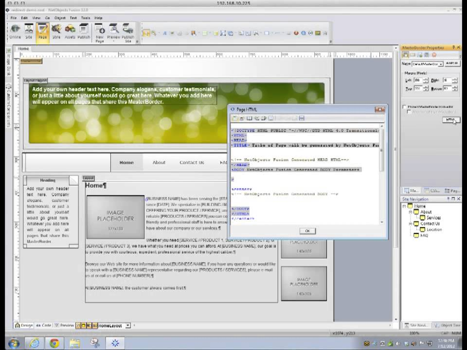 netobjects fusion 11 demo