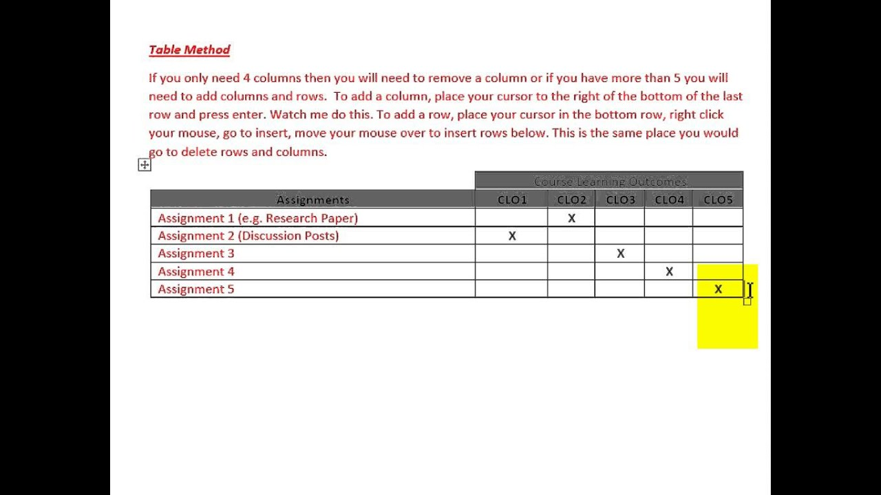 weekly syllabus template