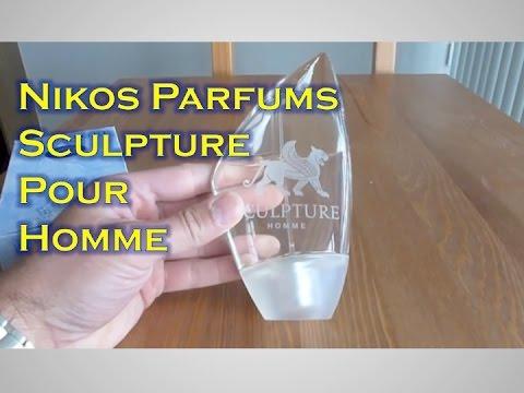 Pakistán Mismo a pesar de  Nikos Parfums Sculpture Pour Homme - YouTube