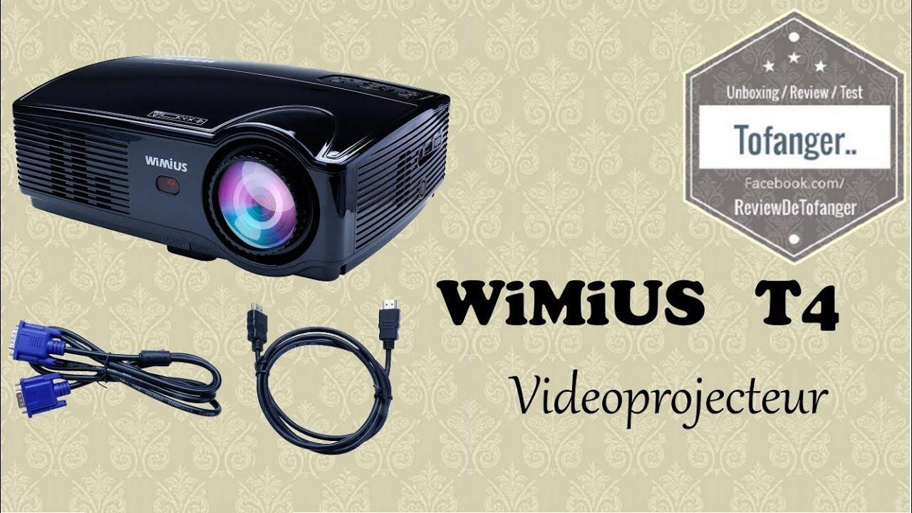 Wimius T4 Videoprojecteur 3200 Lumens Youtube