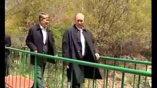 Владимир Путин в Кыргызстане