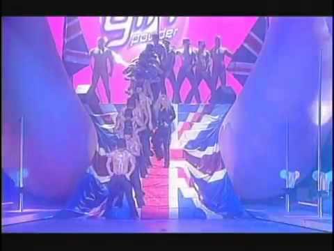 Geri Halliwell Bag It Up Brit Awards 2000